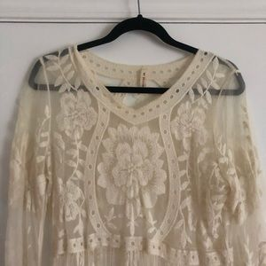 Dresses & Skirts - Lace overlay dress